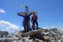 Dave W and Dan on Pico de Aneto, 2009