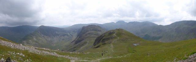 1b. Heading up High Crag
