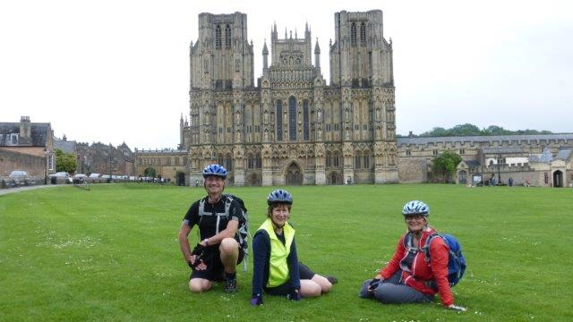 3. Some of us took the official route through Wells