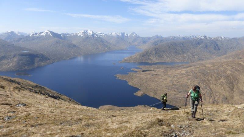 Above Loch Quoich