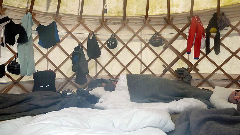 Yurt baby, yurt!