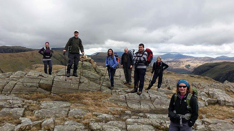 Seathwaite Fell summit