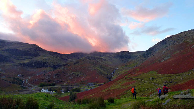Coniston Coppermines at dusk