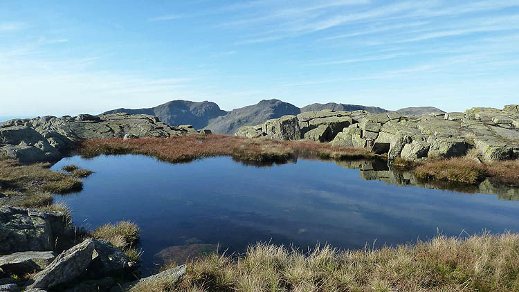Towards Scafell Pike