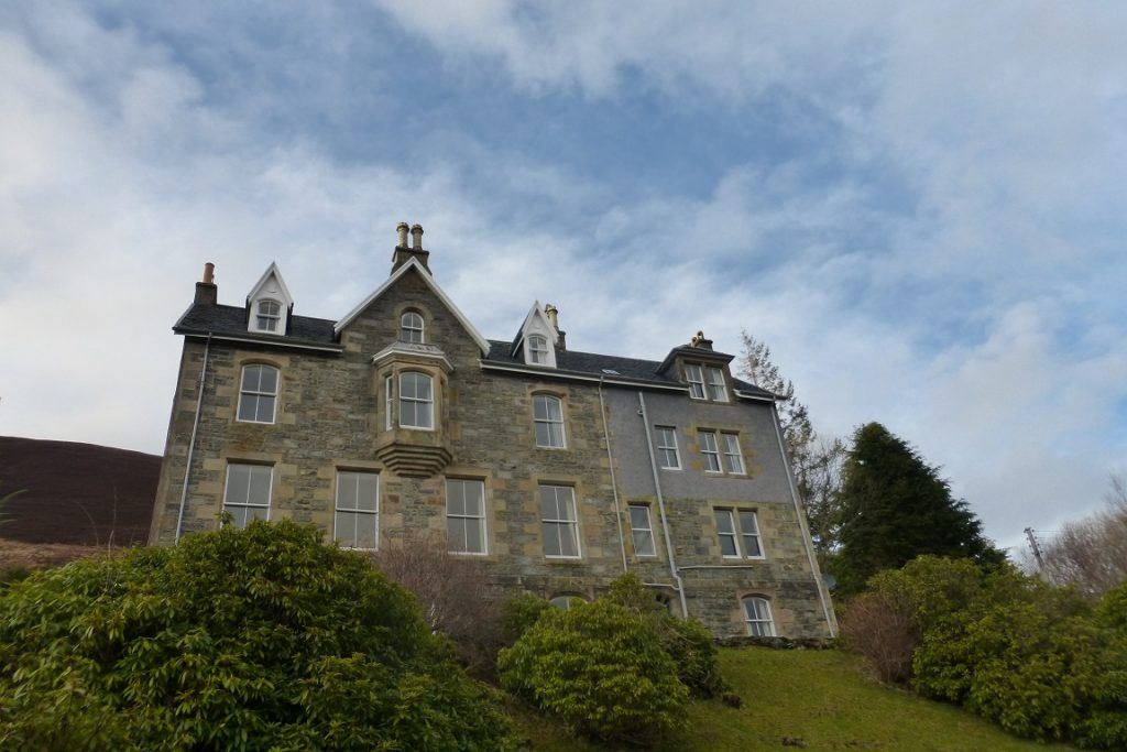 Glen Carron Lodge - our home for the week