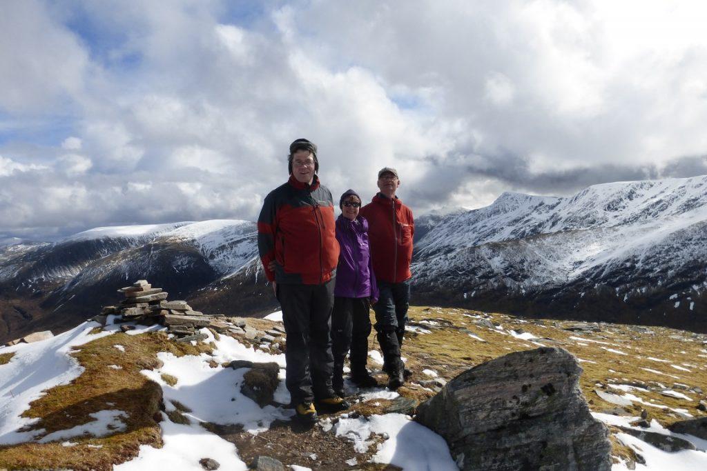 Summit of Sgurr nan Ceannaichean
