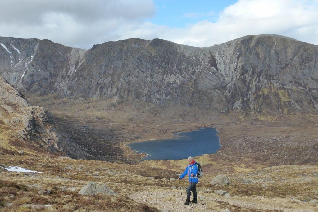 View of the Beinn Liath Mhor Ridge