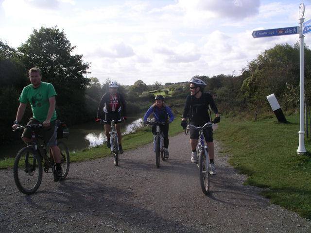 Bath-Newbury bike ride, October 09