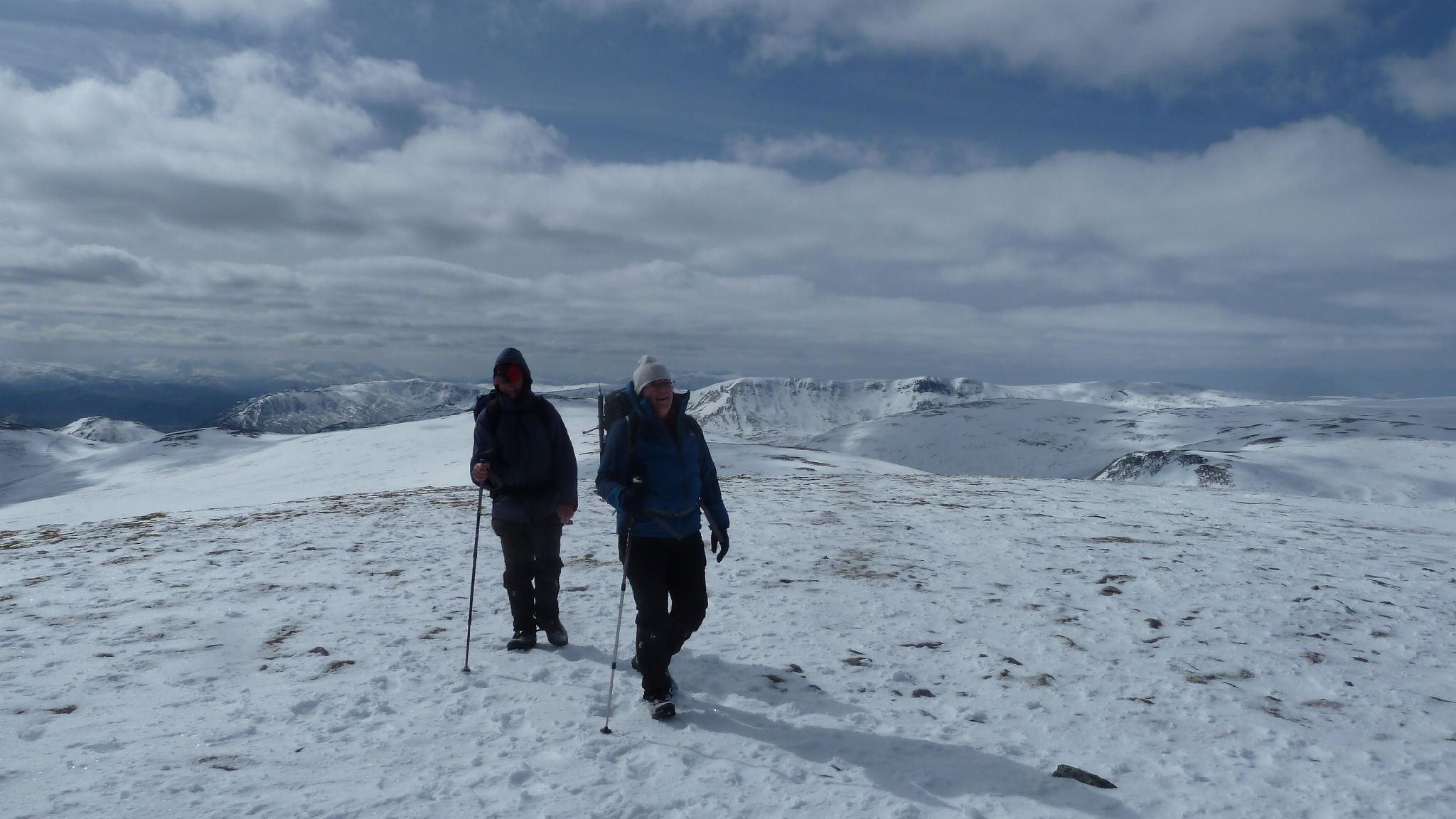 A Chailleach ascent