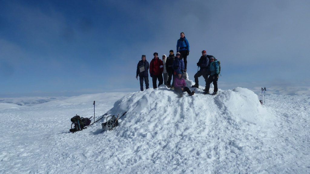 On Summit of Ben Macdui