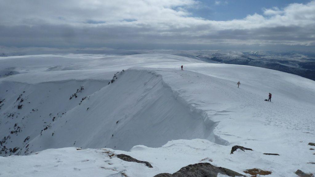Ascent of Sgor Gaoith