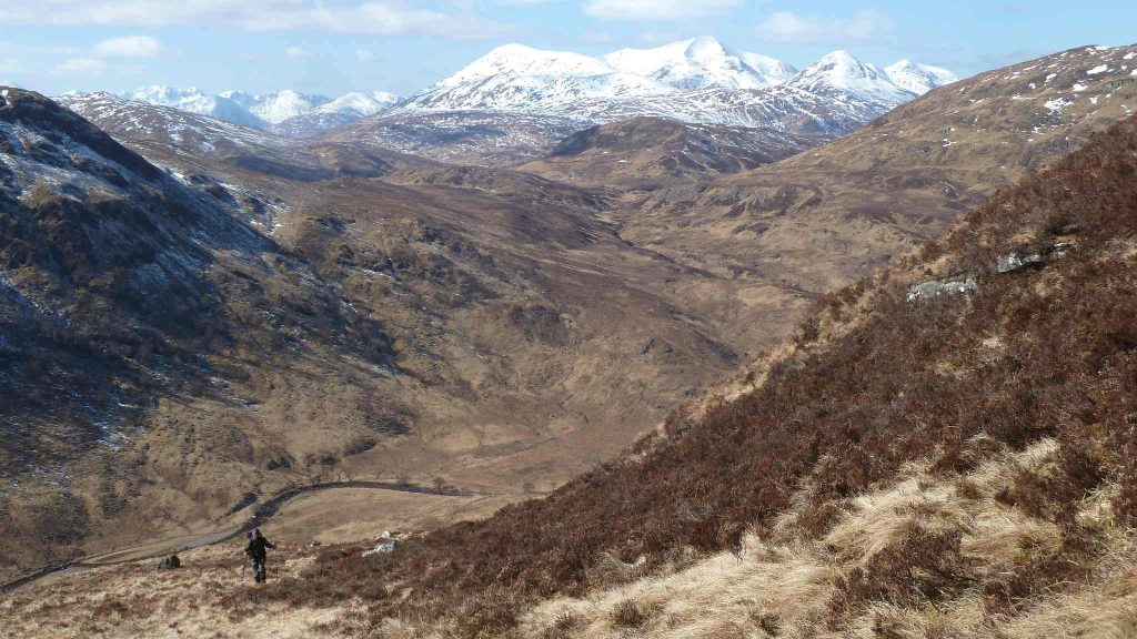 Ascent of Stob Coire Easain
