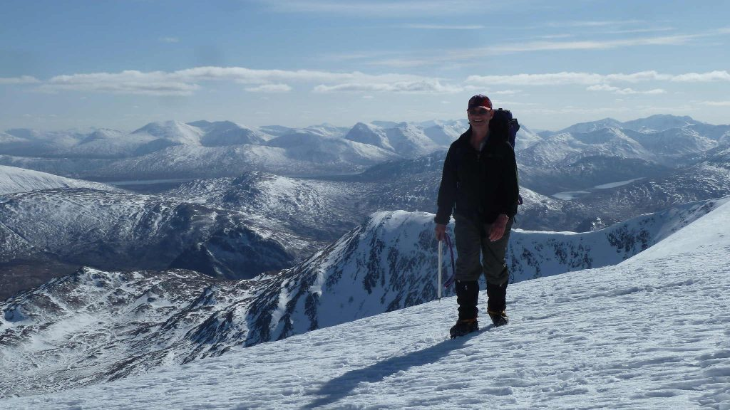 Descent of Stob a Choire Mheadhoin