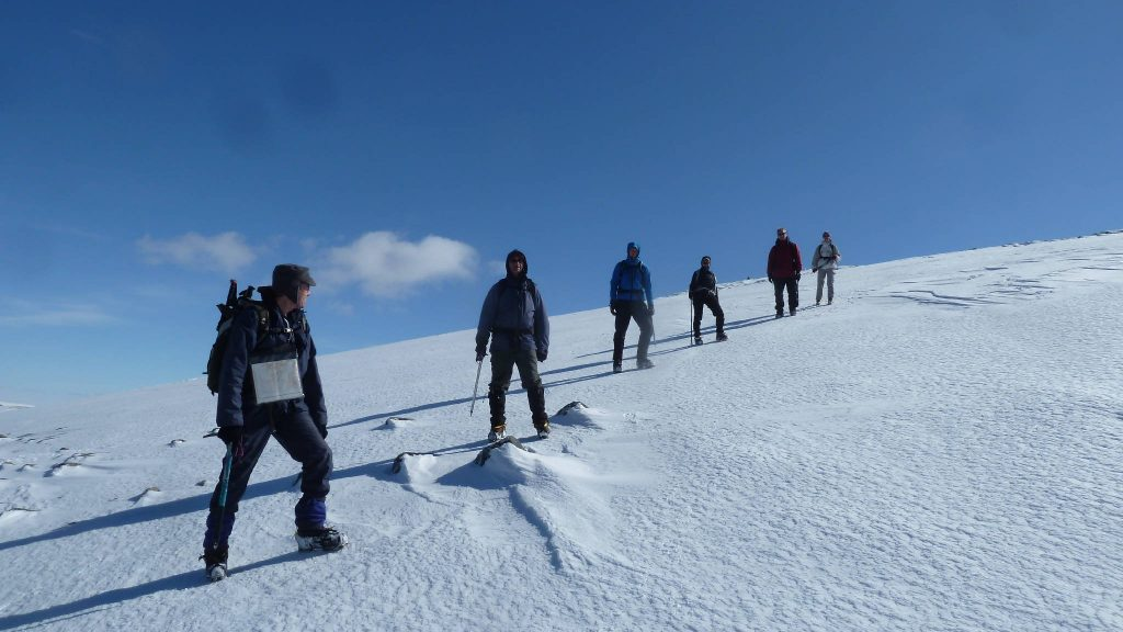 On summit of Meall Chuaich